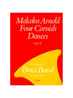 Four Cornish Dances Brass Band (Partitura)