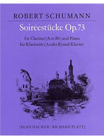 Robert Schumman: Soireestucke Op.73 (Clarinet And Piano)