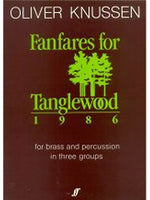 Fanfares For Tanglewood (Brass Ensemble)
