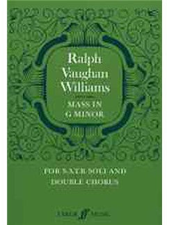 Ralph Vaughan Williams: Mass In G Minor (Faber Edition)