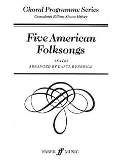 Five American Folksongs (SATB)
