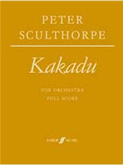 Peter Sculthorpe: Kakadu For Orchestra - Full Partitura
