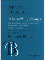 Henry Purcell: Miscellany Of Songs (Voces And Piano)
