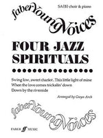 Four Jazz Spirituals (Faber Young Voces)