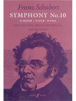 Franz Schubert: Symphony No.10 In D (Full Partitura)