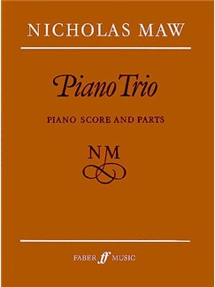Nicholas Maw: Piano Trio (Partitura/Parts)
