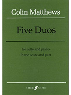 Five Duos (Violoncel And Piano)