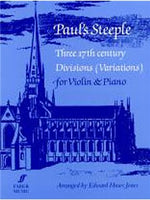 Paul's Steeple - Three 17th Century Divisions (Vioara And Piano)