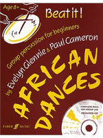 Beat It! African Dances (Book And CD)