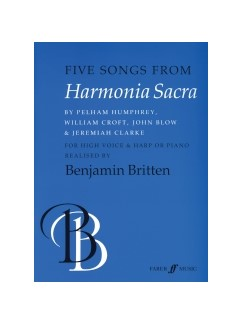 Five Songs From Harmonia Sacra (High Voce and Harp)