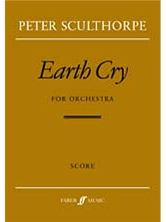 Peter Sculthorpe: Earth Cry (Partitura)