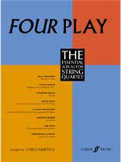 Four Play: The Essential Album For String Quartet (Parts)