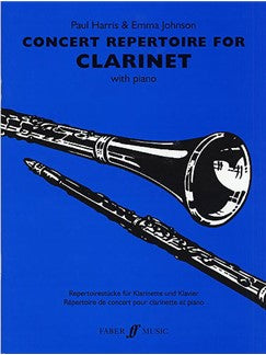 Concert Repertoire (Clarinet And Piano)