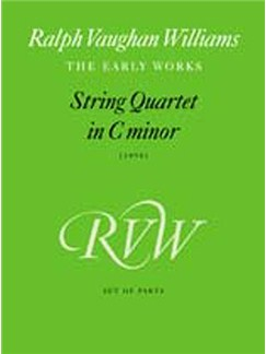 String Quartet In C Minor (Parts)