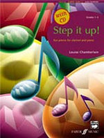 Step It Up! Clarinet And Piano (Book And CD)