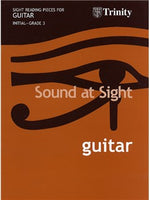 Sound At Sight: Guitar Initial-Grade 3