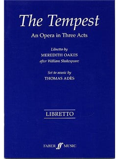 Meredith Oakes: The Tempest (Libretto)