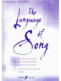 The Language Of Song (High Voce Intermediate)