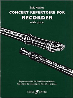 Sally Adams: Concert Repertoire For Recorder