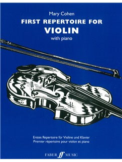Mary Cohen: First Repertoire For Vioara