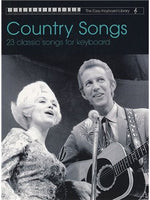 The Easy Keyboard Library: Country Songs