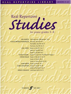 Real Repertoire Studies For Piano Grades 4 - 6
