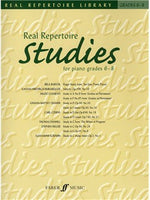 Real Repertoire Studies For Piano Grades 6 - 8