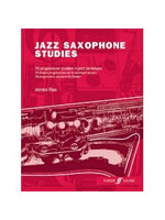 James Rae: Jazz Saxofon Studies