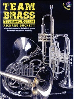 Team Brass: Trumpet/Cornet (Book/CD)