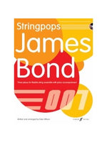 Stringpops: James Bond (Partitura and CD-Rom)