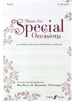 Music For Special Occasions - For Weddings And Services Of Celebration Or Reflection - Secular