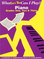 What Jazz & Blues Can I Play? Piano Grades 1, 2 And 3