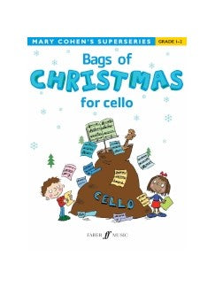 Mary Cohen: Bags Of Christmas For Violoncel - Grade 1-2