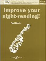 Paul Harris: Improve Your Sight-Reading! - Grade 3 Vioara (2012 Edition)