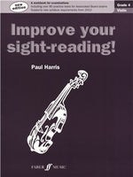 Paul Harris: Improve Your Sight-Reading! - Grade 4 Vioara (2012 Edition)