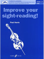 Improve Your Sight-Reading! Violoncel Grade 1-3 (2012 Edition)