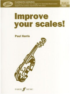 Improve Your Scales! Vioara Grade 3 (2012 Edition)