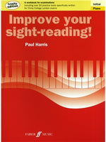 Paul Harris: Improve Your Sight-Reading - Piano Initial (Trinity Edition)