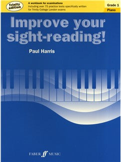 Paul Harris: Improve Your Sight-Reading - Piano Grade 1 (Trinity Edition)