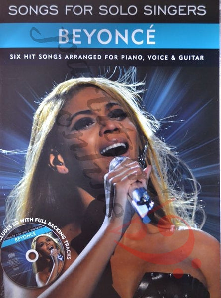 Songs For Solo Singers: Beyonce