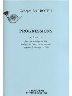 Georges Barboteu: Progressions Volume 3