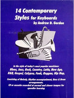 Andrew D. Gordon: 14 Contemporary Styles For Keyboards