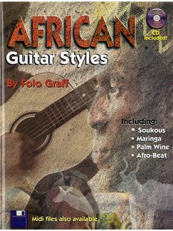 Folo Graff: African Guitar Styles (Book/CD)