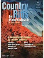 Andrew D. Gordon: Country Riffs For Piano/Keyboards (Book/Online Audio)