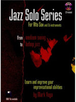 Mark Vega: Jazz Solo Series (E Flat)