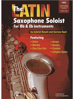 Latin Saxofon Soloist (Book/Online Audio)