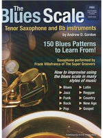 The Blues Scale For Tenor Saxofon And Bb Instruments (Book/Online Audio)