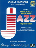 Jamey Aebersold:  How To Play Jazz & Improvise - Volume 1 (French Edition)