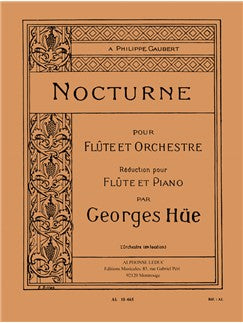 Georges Hüe: Nocturne (Flute & Piano)