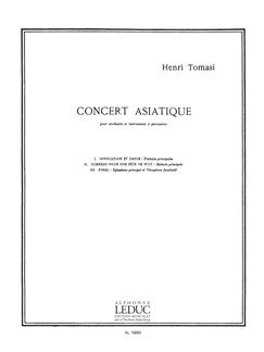 Henri Tomasi: Concert asiatique (Percussion(s) & Piano)